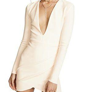 Bec & Bridge Lila Plunge Dress Ivory